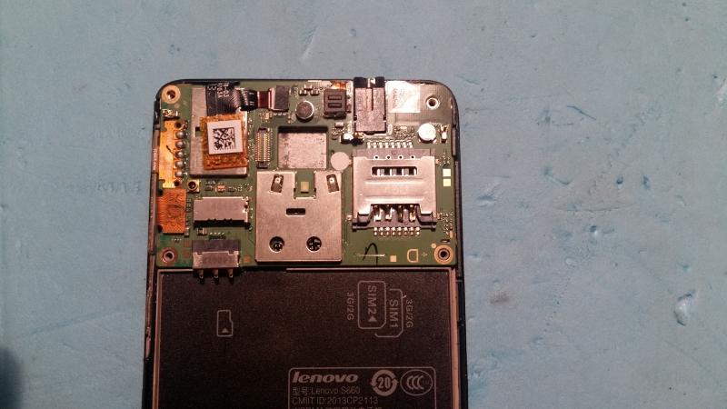 Broken Sim Pins Lenovo